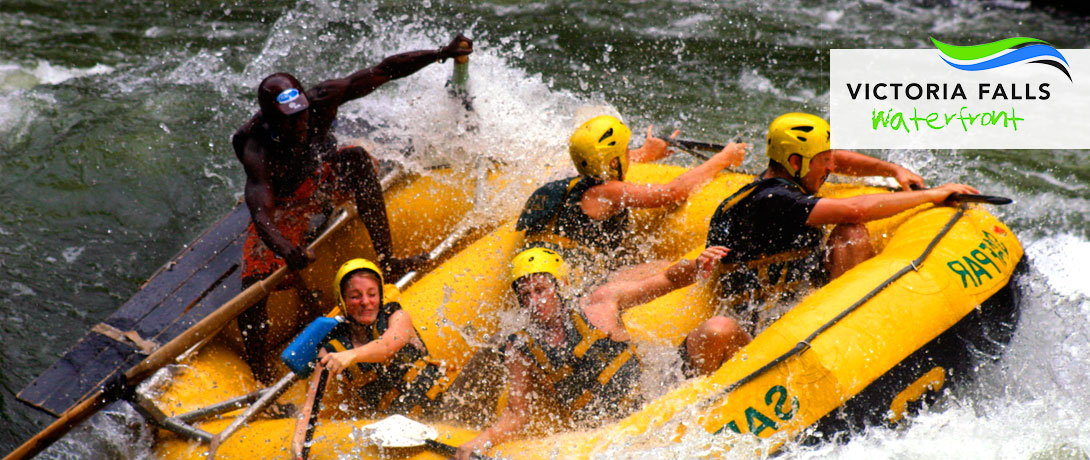 Victoria Falls Waterfront Activities Rafting